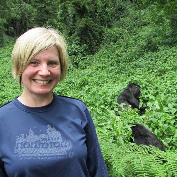Andrea Berger Uganda Gorillas