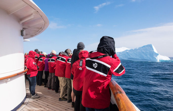 Drake Passage Ship Rail © Polar Latitudes