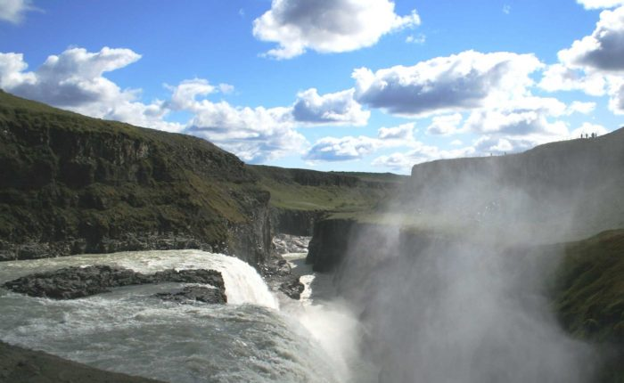 Gullfoss And River Lm