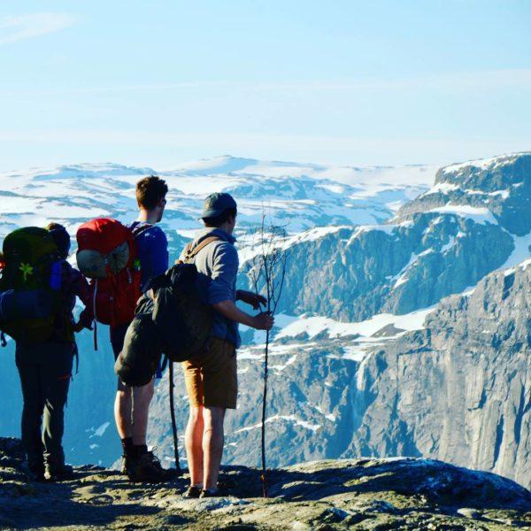 Hiking In Odda, Norway