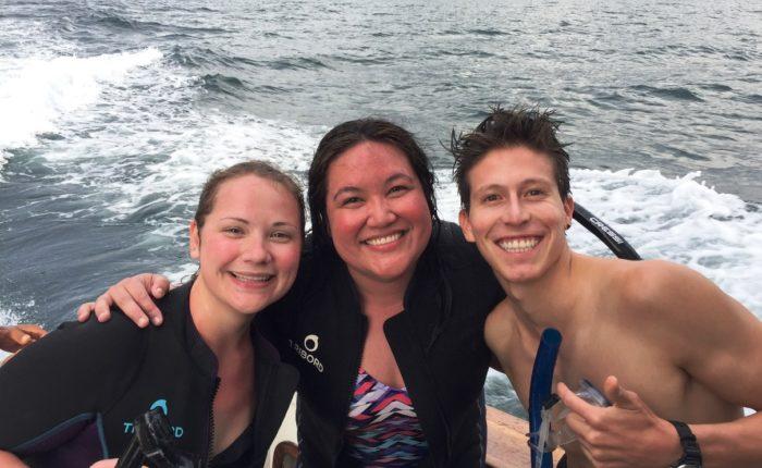 Galapagos, after snorkeling