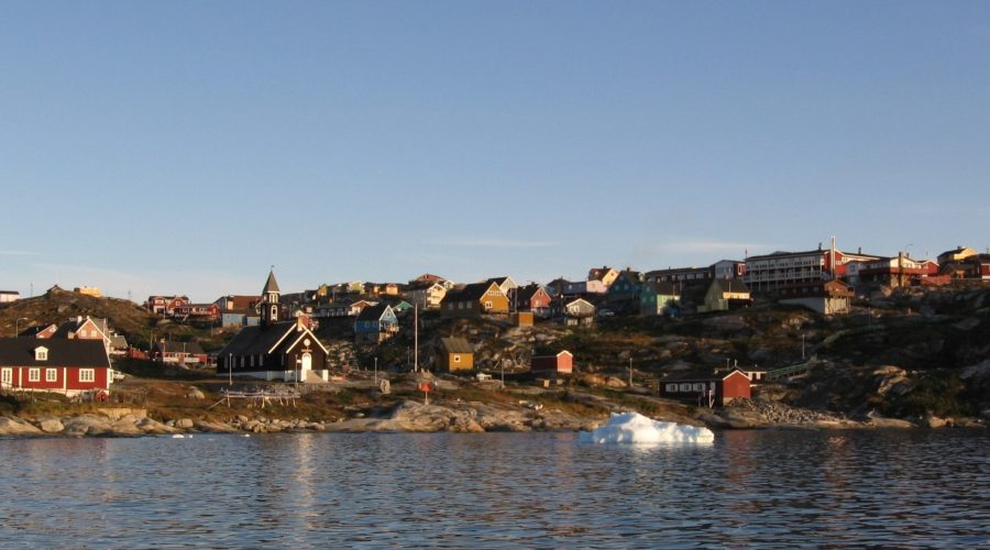 Ilulissat City, Church On Coast Betina Kohler, Bo 0488 Web Ready