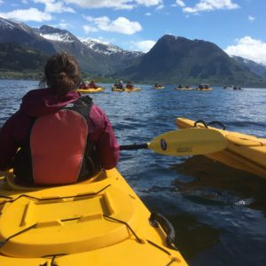 Kayaking In Hardangerfjord 2;nicole Anderson, Bo Web Ready