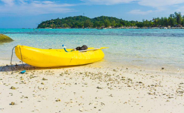 Kayaking On Island, Lipe, Satun, Thailand Smaller