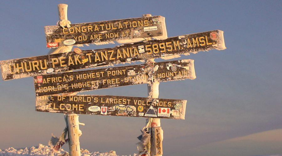 Uhuru Peak, Kilimanjaro, Tanzania | Photo: Bob Swan