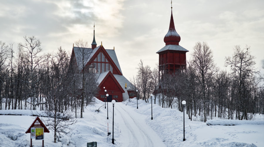 Kiruna Church Hans Olof Utsi, Imagebank.sweden.se Web Ready
