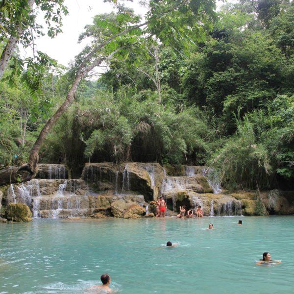 Luang Prabang Kuangsi Waterfalls