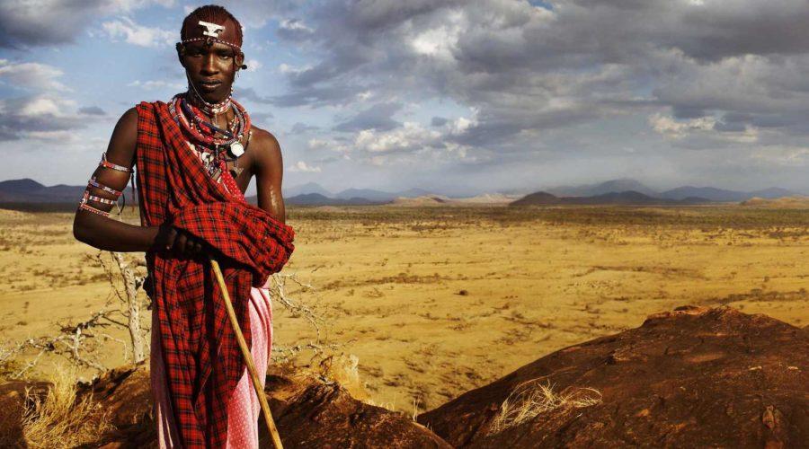 Maasai at Campi ya Kanzi