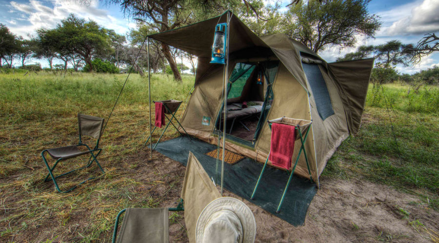 Mobile Camp Tent