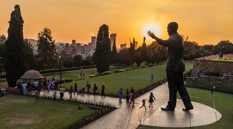 Nelson Mandela Statue, Pretoria