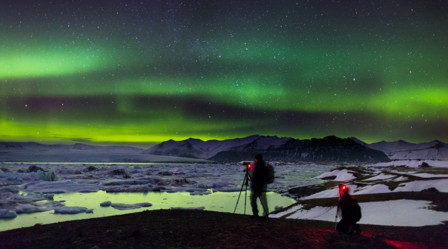 Northern Lights At Jökulsarlon Glacier Lagoon Visiticeland Nordurljos Vid Jokulsarlon Fon 130 1 Web Ready
