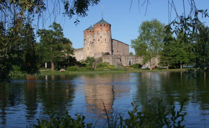 Olavinlinna Castle Savonlinna Lakeland Finland