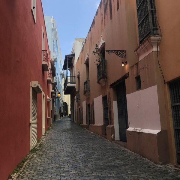 Old San Juan Cobblestone Street Web Ready