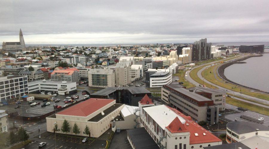 Reykjavik With Shore Walk, Linda Mccormick Web Ready