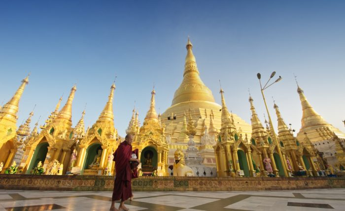 Photo: Destination Asia Shwedagon Pagoda, Yangon