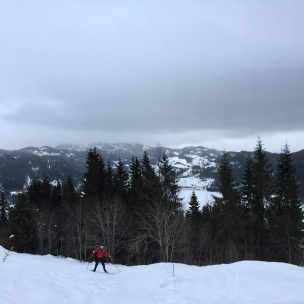 Skiing In Morgedal, Norway