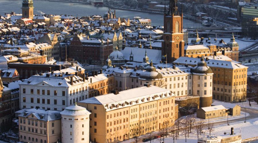 Snow On Stockholm Trygg Cityhall Winter 0123 Henrik Trygg