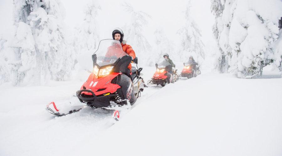 Snowmobiling, Joho Kuva, Visit Finland 2363 4 Dsc0052