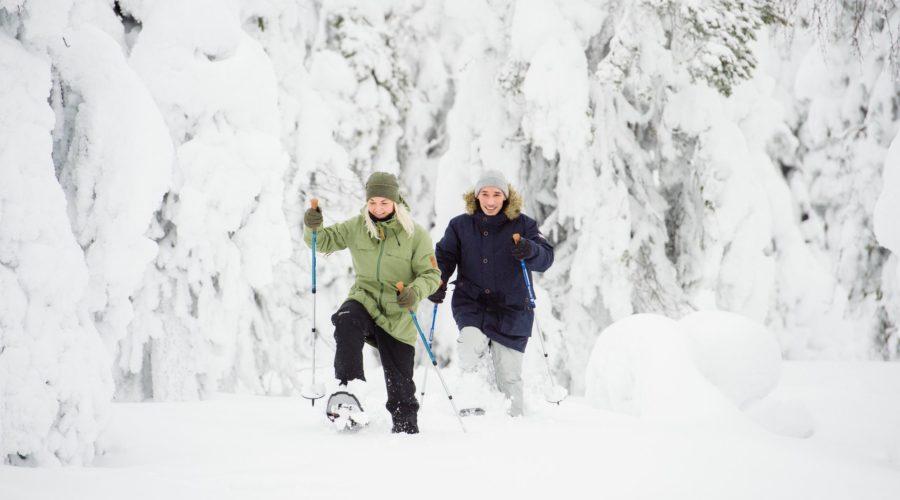 Snowshoeing, Joho Kuva, Visit Finland 2360 1 Dsc0349