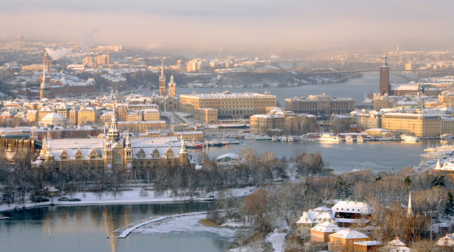 Stockholm Winter Ola Ericson,imagebank.sweden.se