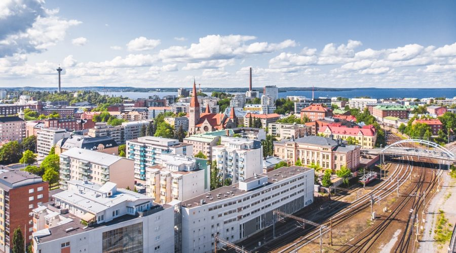 Visit Tampere Train Station Railway Drone View Laura Vanzo 3 Web Ready