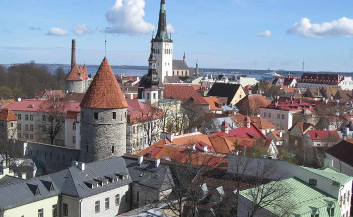 Overlook Tallinn Old Town