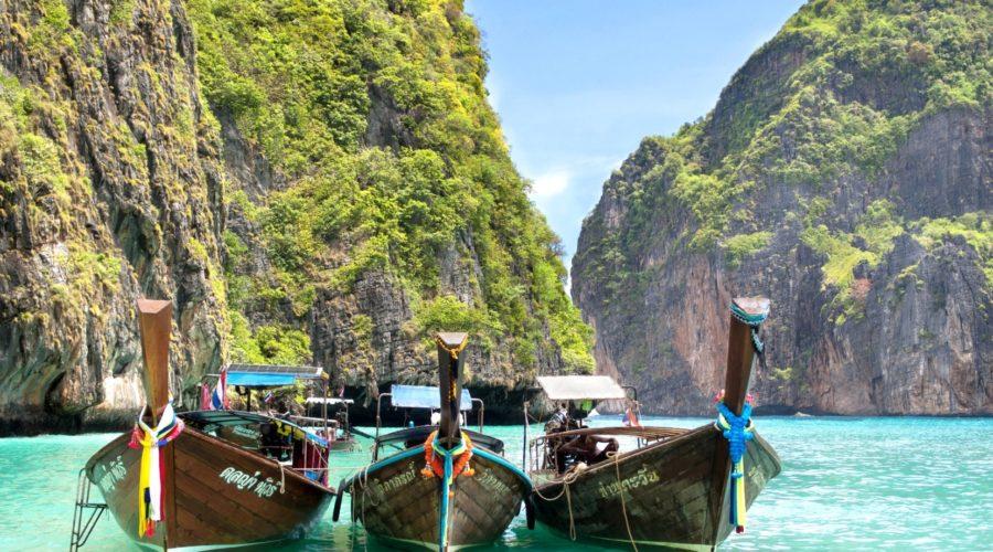 Shutterstock 173956469 Long Tail Boats Maya Bay, Ko Phi Phi Web Ready