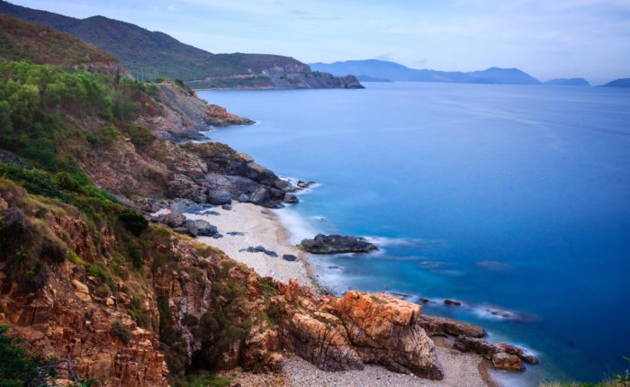 Nha Trang Bay, Vietnam. View From Cu Hin Pass