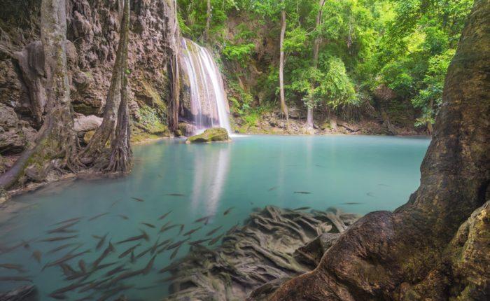 Shutterstock 201342425erawan Waterfall